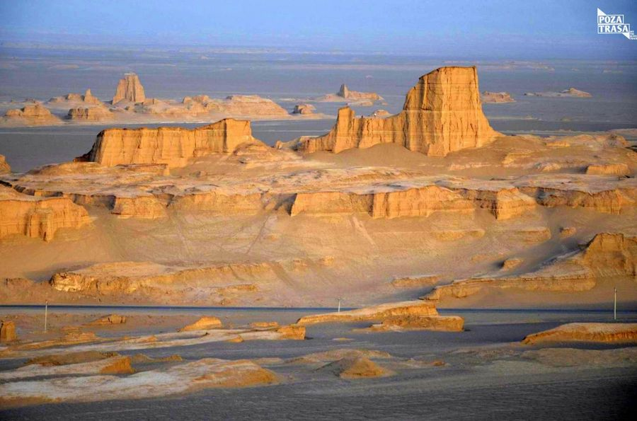 Iran pustynia Lut