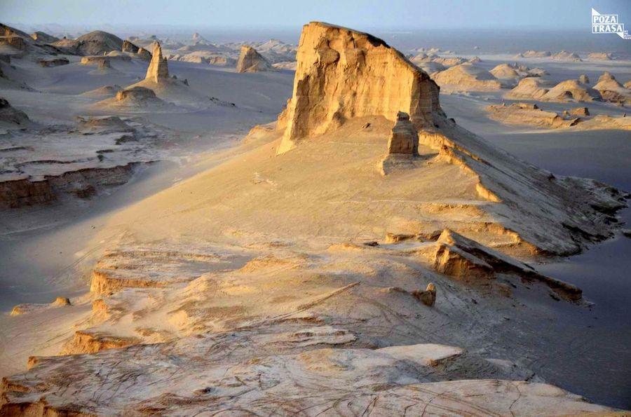 pustynia w Iranie
