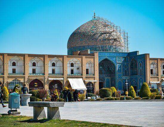 Isfahan Iran wyjazd