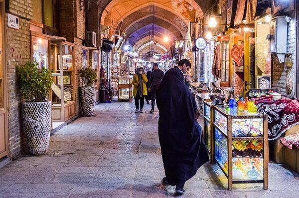 Teheran w Iranie