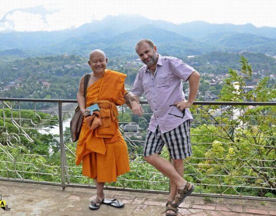 Laos mnich
