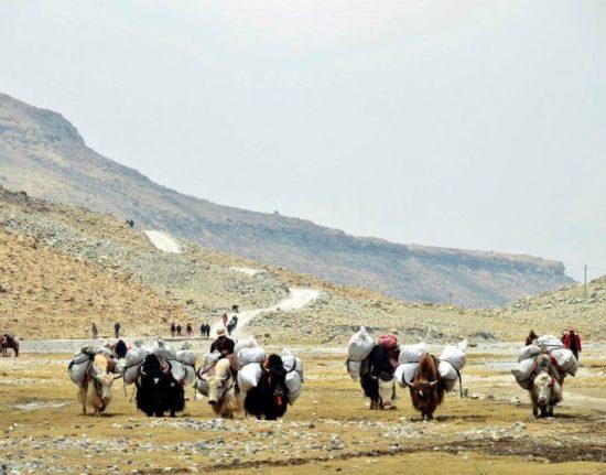 Tybet podróż