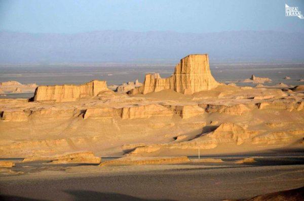 Pustynia Kaluty w Iranie