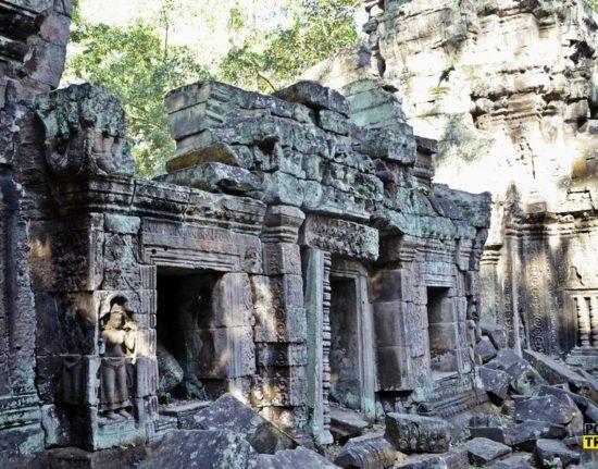 Angkor Wat Wietnam Kambodża Sylwester
