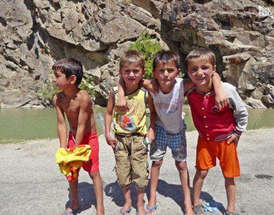 Dzieci w Kirgistanie