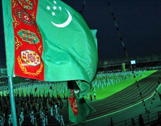 Turkmenbasza z Turkmenistanu