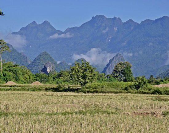 krajobrazy Wietnamu