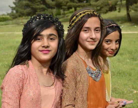 Irak Kurdystan Iracki Kurdyjskie pikniki
