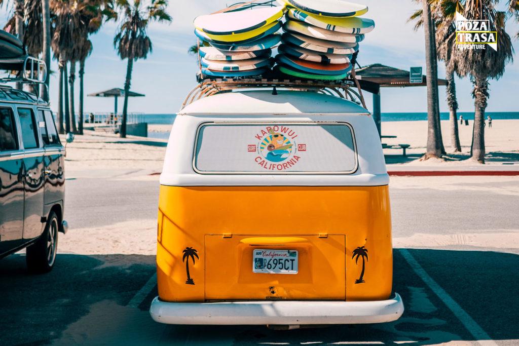 Kalifornia wyprawa wakacje plaża