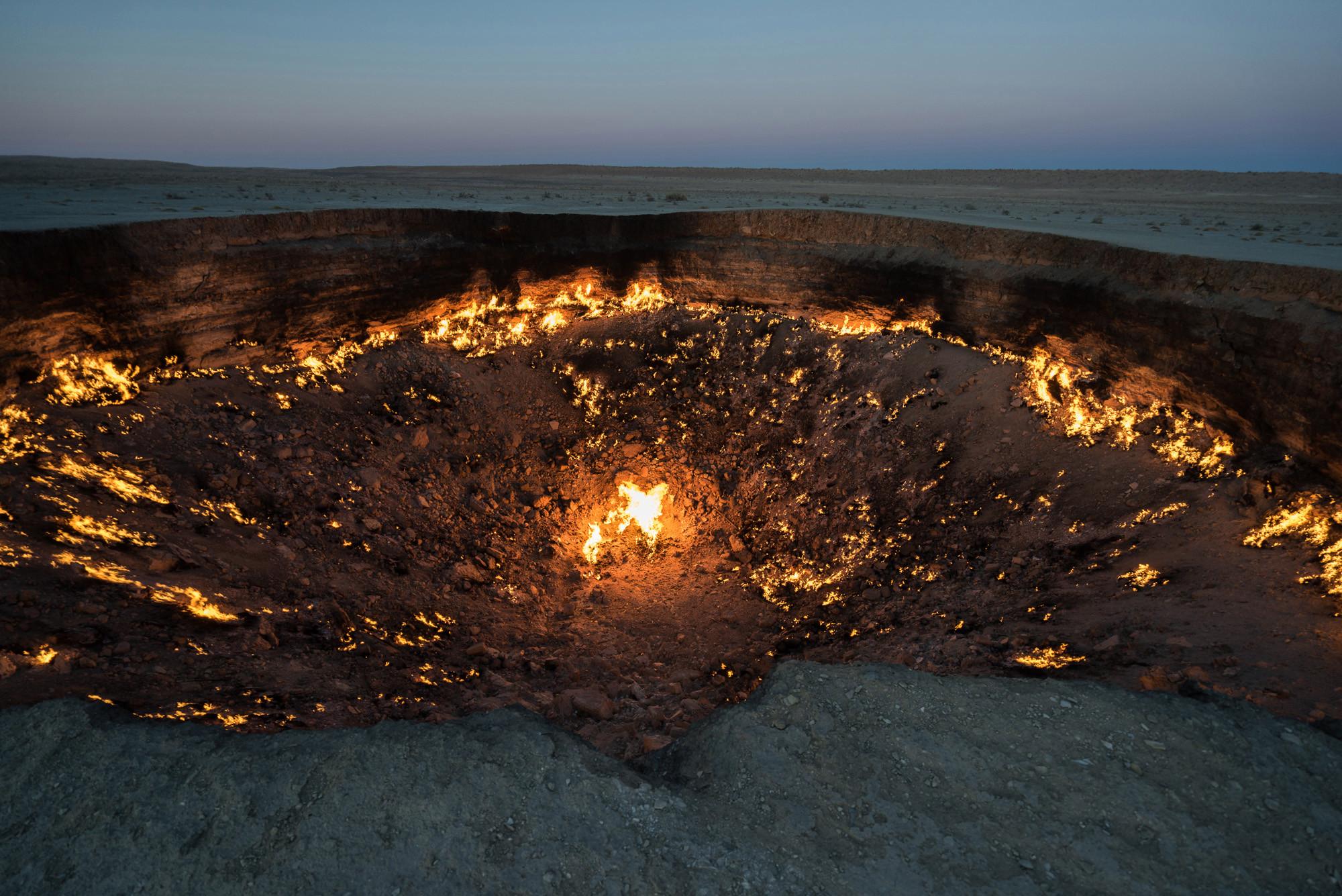 Derweze wrota piekieł Turkmenistan wyprawy