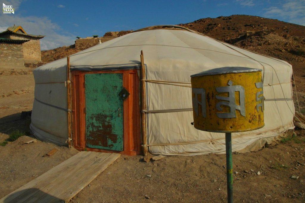 Mongolia wyprawa jurta