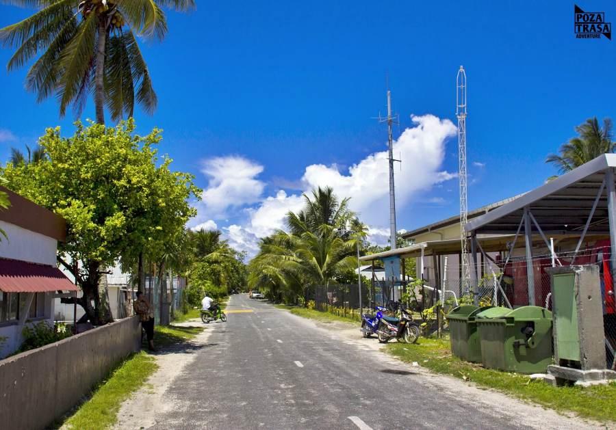 Tuvalu miasteczko