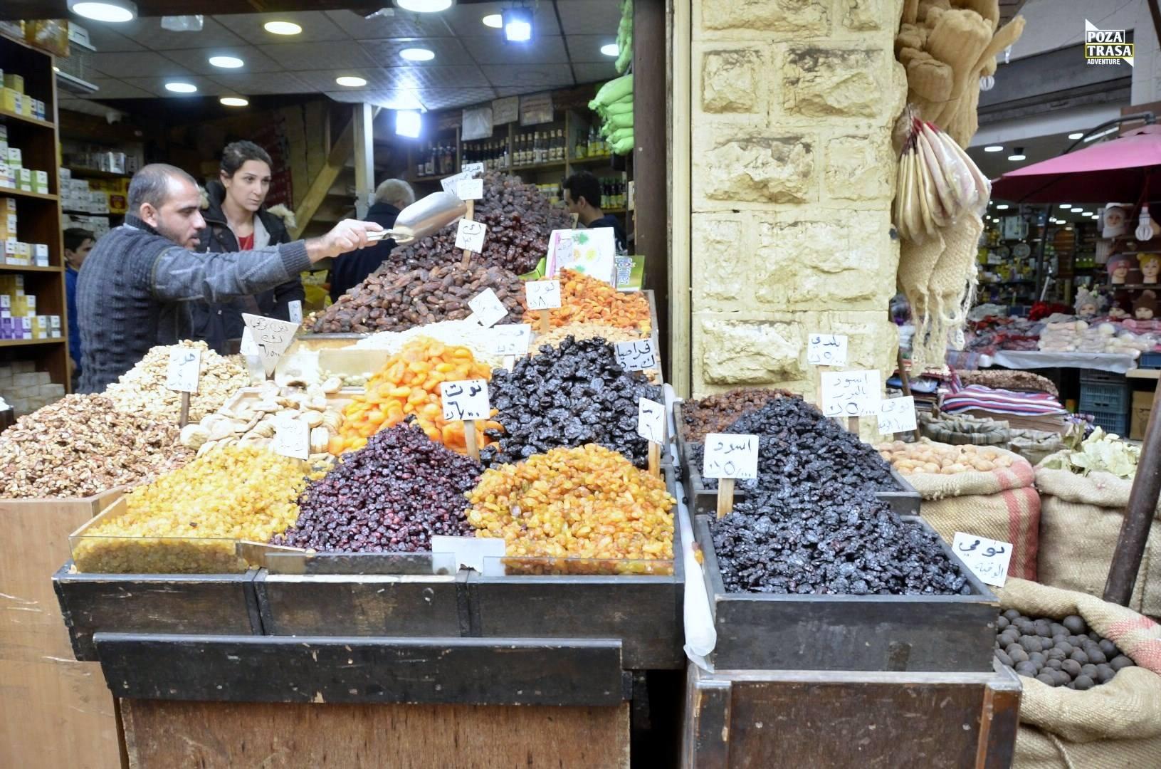 Jordania Arabski bazar
