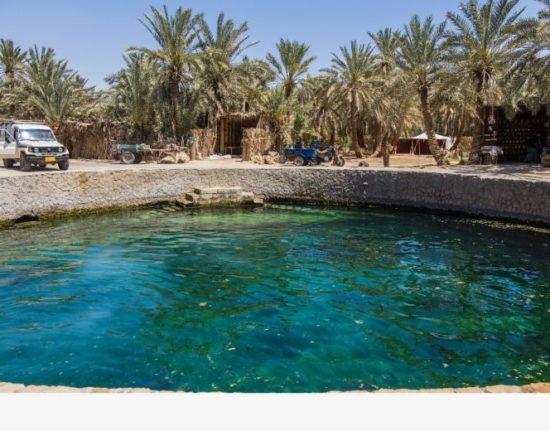 Egipt wody mineralne
