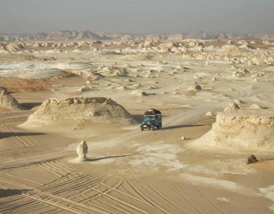 Egipt jeepem