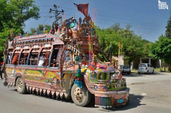 Pakistan wycieczka ciężarówka