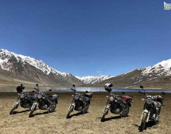 Karakorum Highway motocyklem