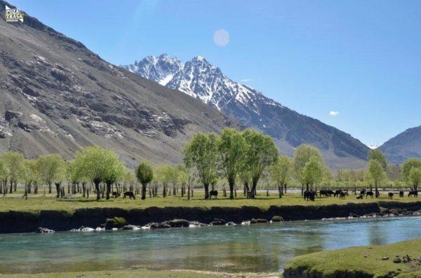 Pakistan Północ Południe