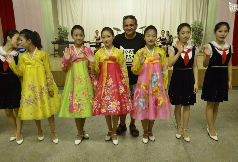 wyjazd Korea Północna
