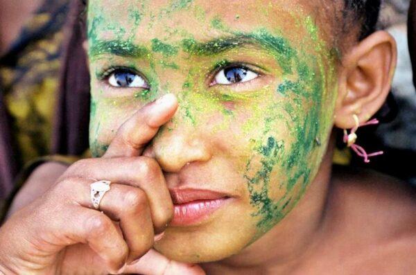 Dzieci portrety Sokotra