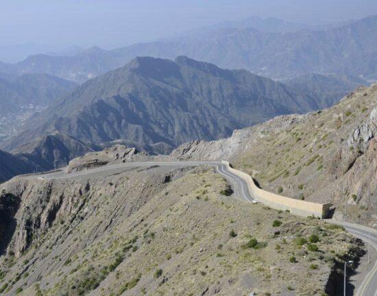 górskie krajobrazy w Arabii Saudyjskiej