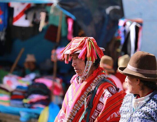 Indianie w Peru