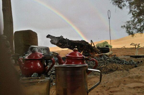 Herbatka z Tuaregami