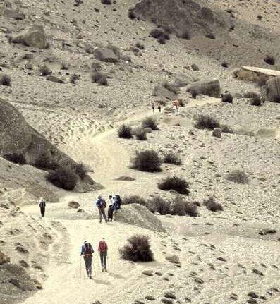 Mustang Nepal wyjazd