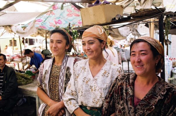 bazary Azja Centralna