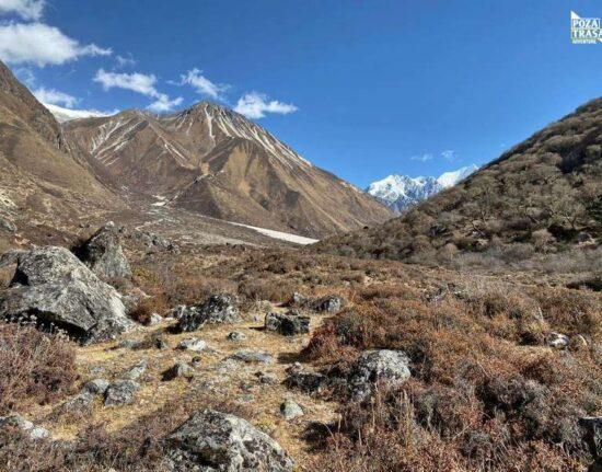 Nepal trekking Langtang