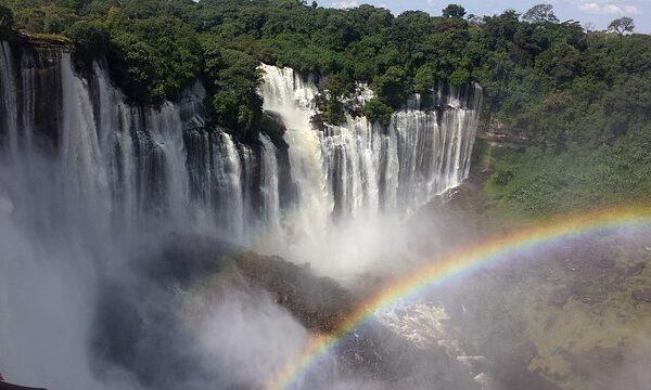Wodospad w Angoli