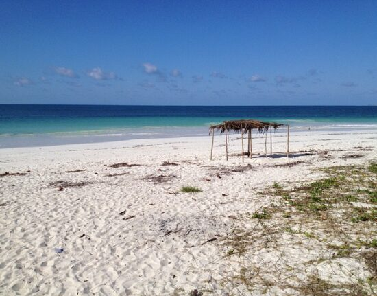 mozambik plaża