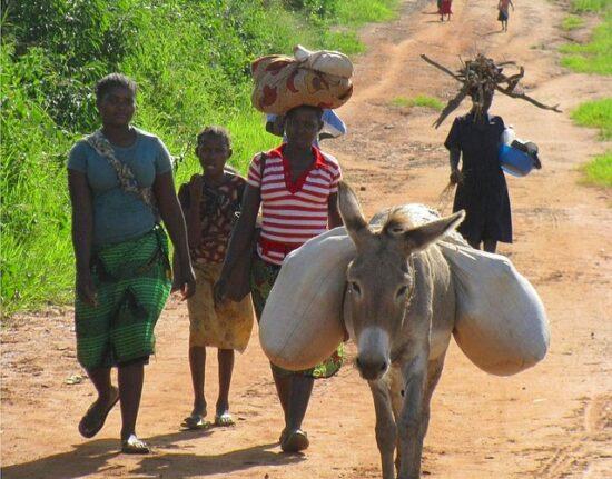 mozambik wioska