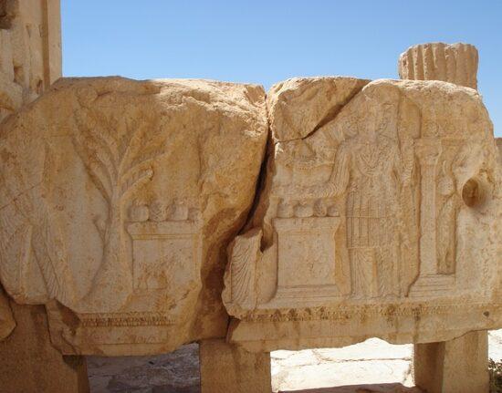 Palmyra w Syrii