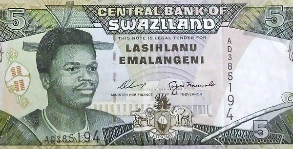 król Suazi