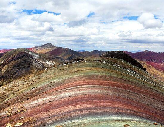 Tęczowa Góra Peru Boliwia Chile