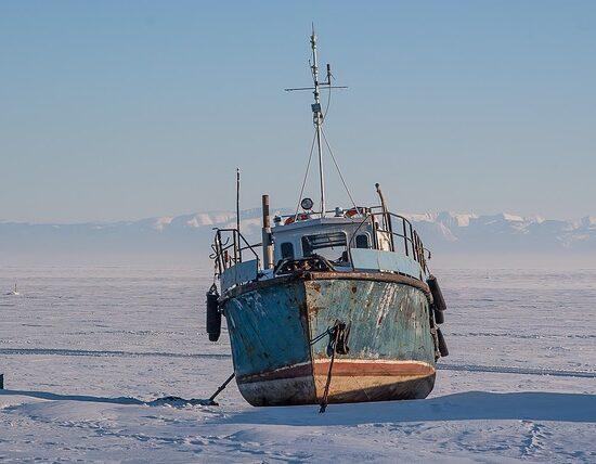 Bajkał zimą