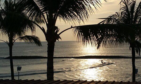 Relaks na indonezyjskiej plaży