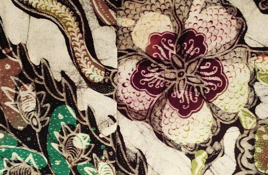 Batik indonezyjski