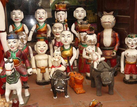 Wietnam Wycieczka wodny teatr lalek