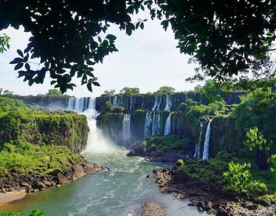 Wodospady Iguazu Argentyna