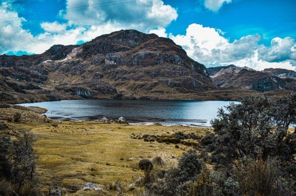 Ekwador Laguna Quilotoa