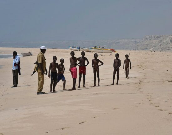 Somalia i Somalijczycy Garoowe W Somalii