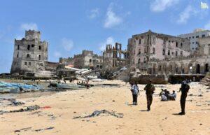 Somalia i Somalijczycy Mogadiszu W Somalii
