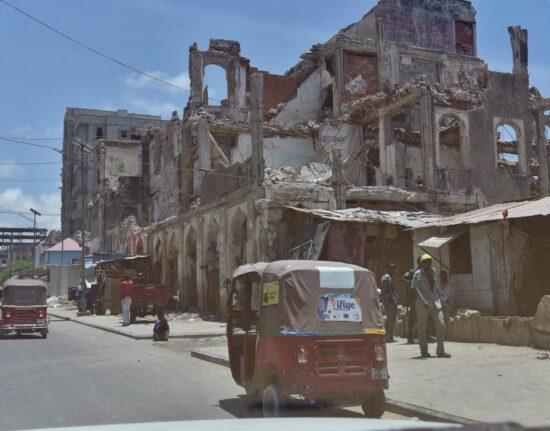 Mogadiszu W Somalii