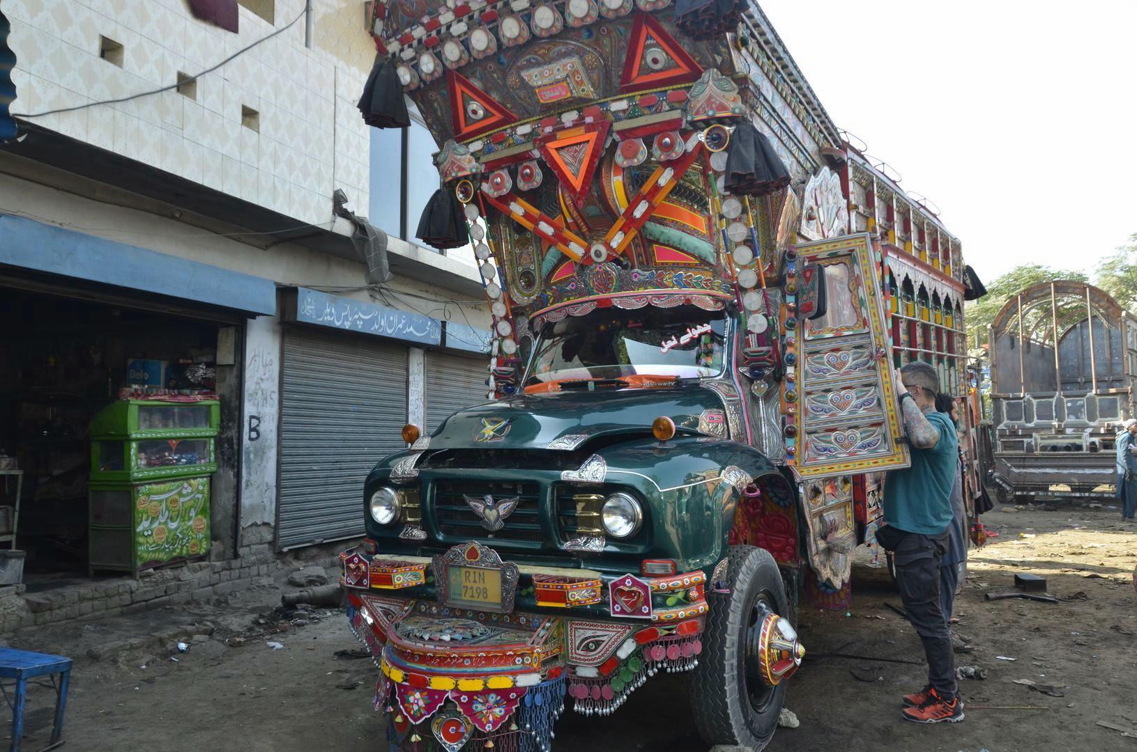 podróż Pakistan