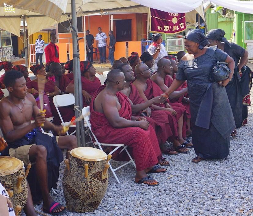 Ghana ceremonia pogrzeb
