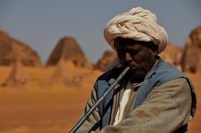 Sudan wyjazd Pustynia