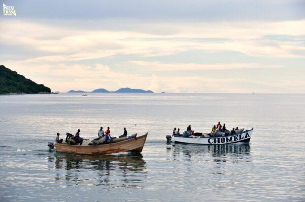 Zachód Słońca Jezioro Malawi 2021
