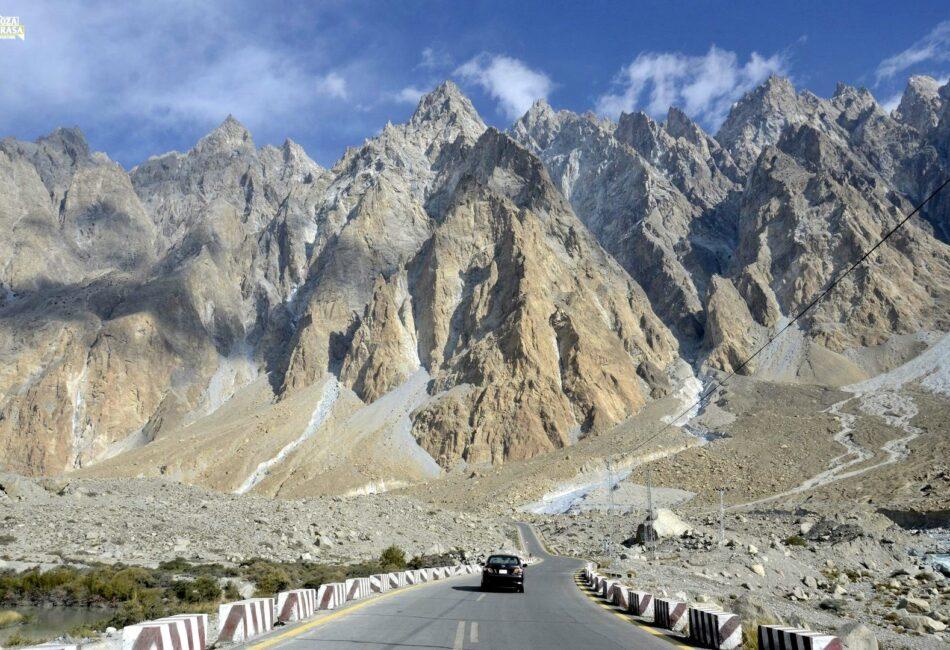 KKH Passu - Przełęcz Khunjerab Pakistan 2020